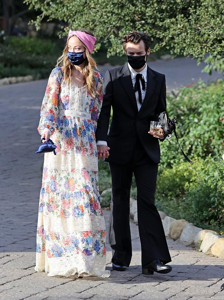 Olivia Wilde ja Harry Styles häissä 2
