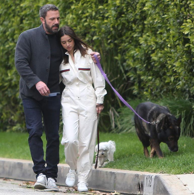 Ben Affleck and girlfriend Ana de Armas  Mandatory Credit © KELA/Broadimage