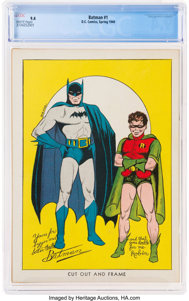 batman #1 2
