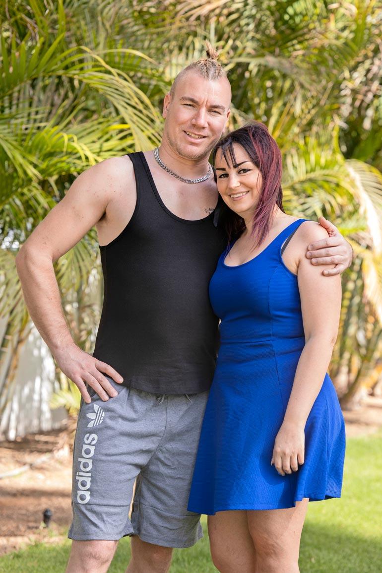 Mika ja Pirita viettivät rakkauslomaa viime vuoden helmikuussa Kanarialla.