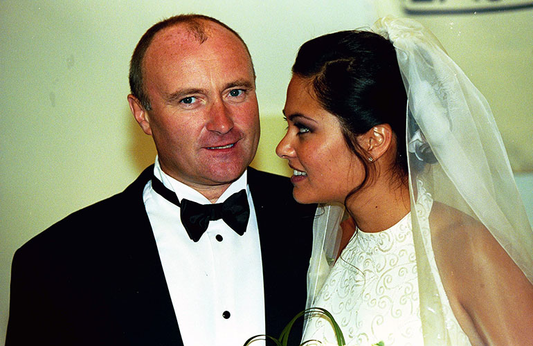 Phil Collins Orianne Cevey