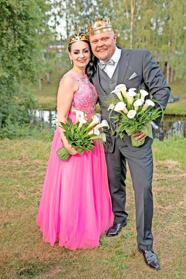 Pirita valittiin tangokuningattareksi vuonna 2019. Kuninkaaksi valittiin Johannes Vatjus.
