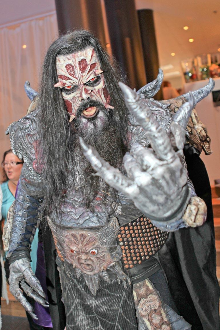 Lordi voitti Euroviisut vuonna 2006.