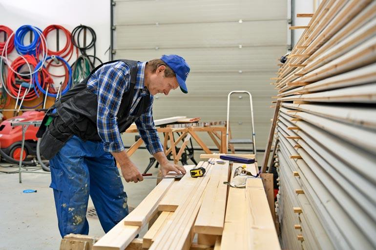 Jorman kädentaidot ovat periytyneet ainakin hänen yhdelle jälkikasvusta. – Pojistani keskimmäinen on rakennusmestari.