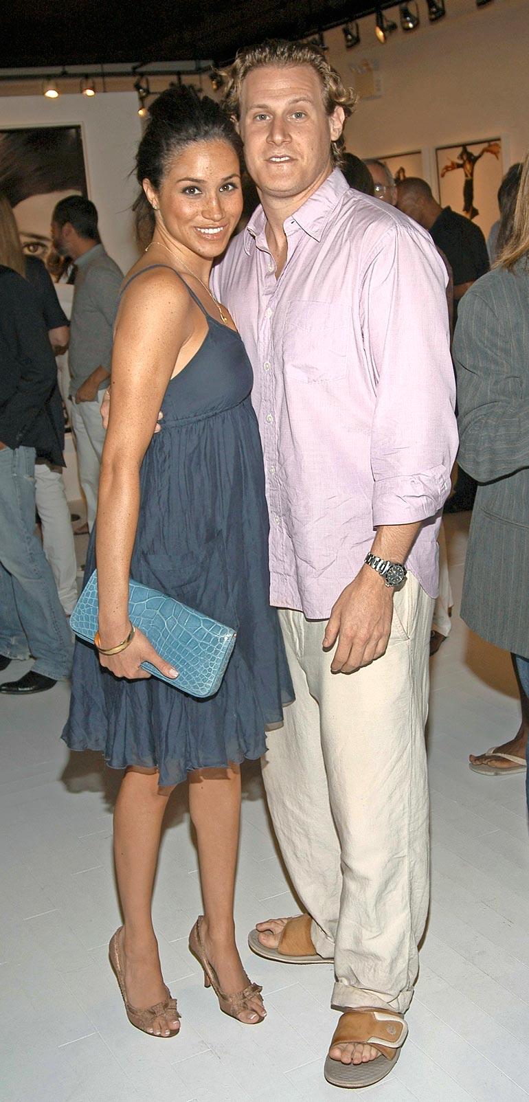 Meghanin ja Trevorin avioliitto kesti vain kaksi vuotta. He erosivat vuonna 2013.
