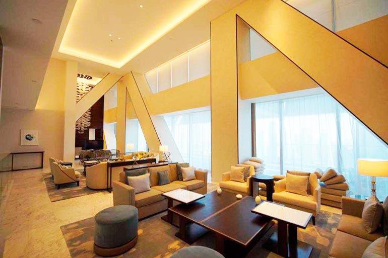Ökytalon suurimmat penthouset maksavat jopa 20 miljoonaa euroa.