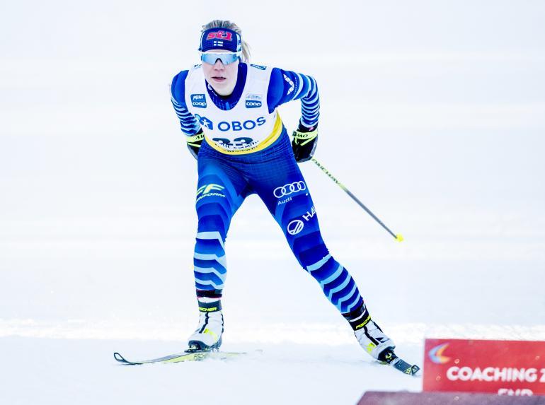Jasmi Joensuu voi olla todellinen jokerikortti Suomelle Obertsdorfin MM-kisoissa.