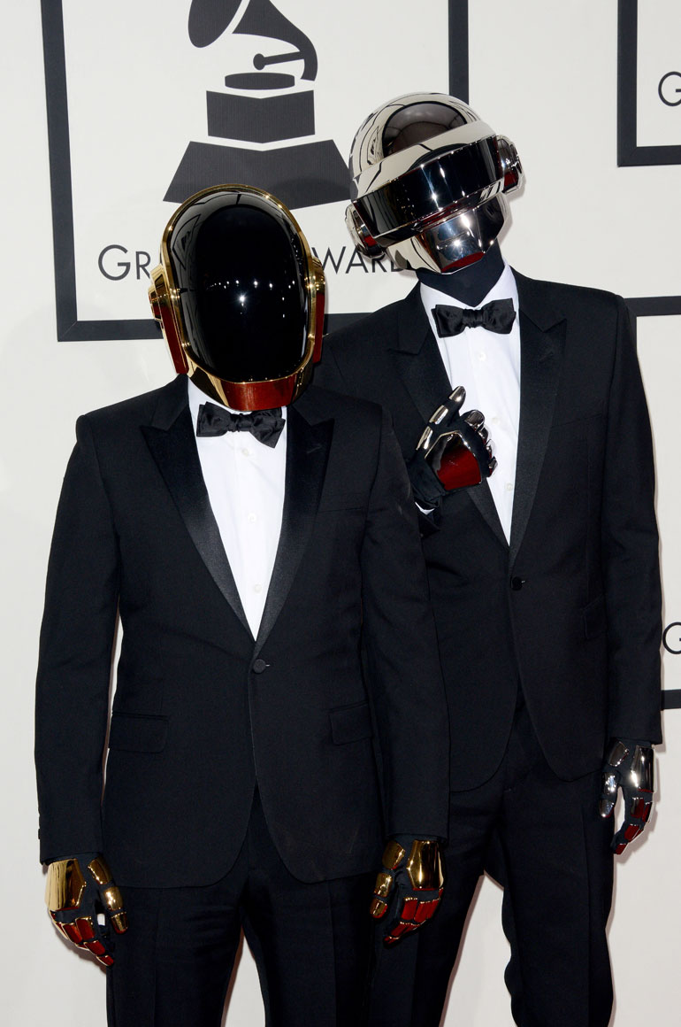 January 26, 2014 of Guy-Manuel de Homem-Christo and Thomas Bangalter of Daft Punk attend the 56th GRAMMY Awards at Staples Center in Los Angeles, CA, USA. - D