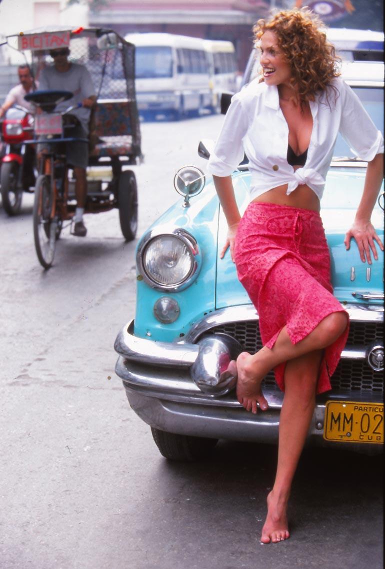 – Havannassa tuntui kuin aika olisi pysähtynyt 1950-luvulle, Janina muistelee.