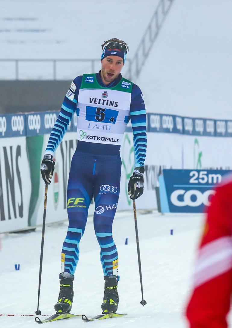 25-vuotias Joni Mäki lukeutuu Suomi-hiihdon kiinnostavimpiin tulevaisuuden nimiin.