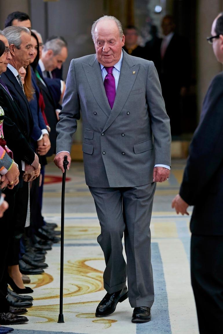 Juan Carlosin väitetään käyvän punttisalilla 14 kertaa viikossa.