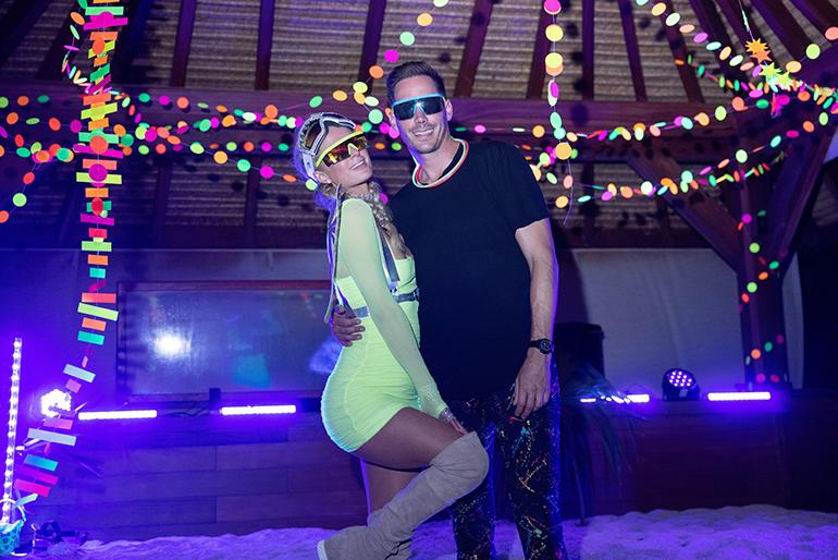 Paris Hilton ja Carter Reum