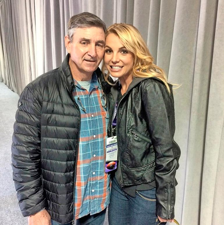 Isä ja Britney