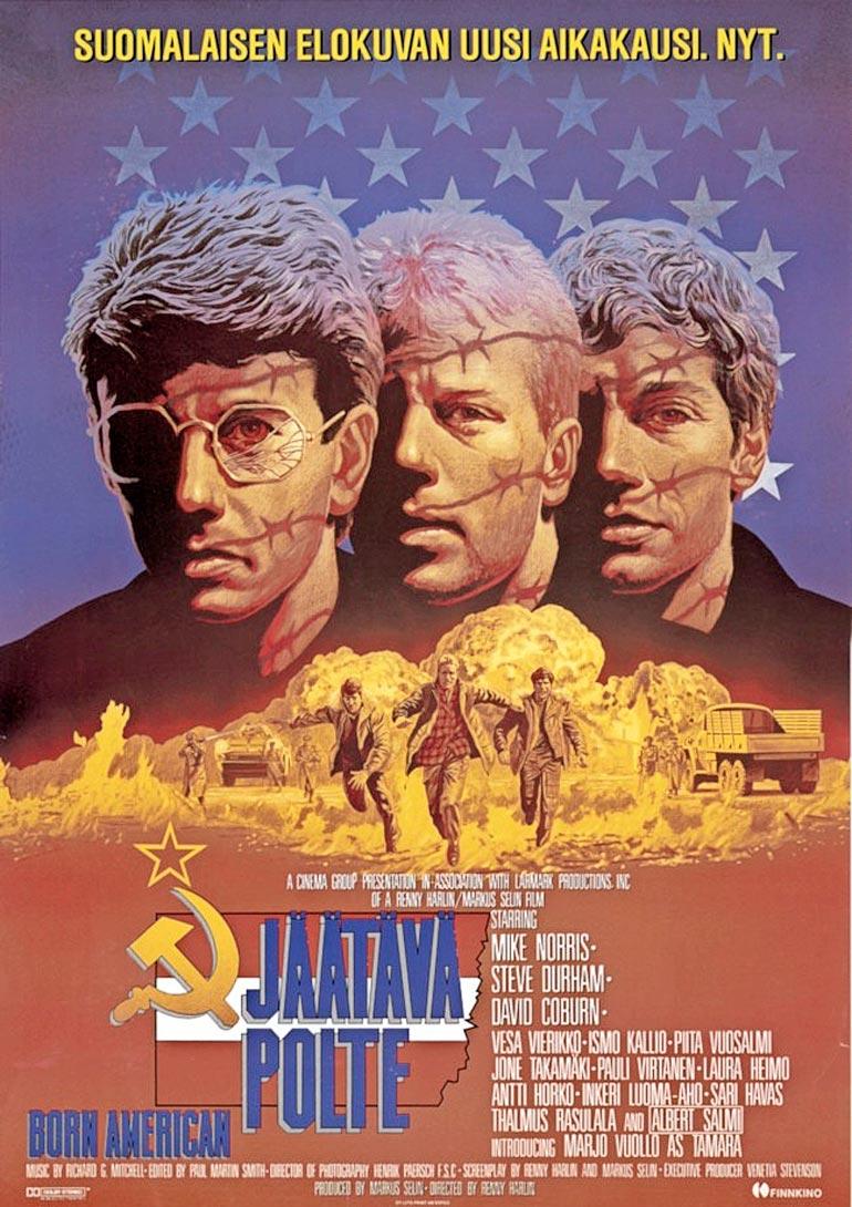 Albertin viimeiseksi elokuvarooliksi jäi Renny Harlinin ohjaama Jäätävä polte (1986), jota kuvattiin Suomessa. Saunan ja Lapin luonnon sanottiin tulleen tähdelle tutuiksi.