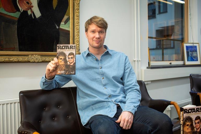 Joonaksen Star Wars -urasta kertova kirja ilmestyi helmikuun alussa. Hippo Taatilan kirjoittama ja Johnny Knigan kustantama opus on nimeltään Roar! - Elämäni wookieena.