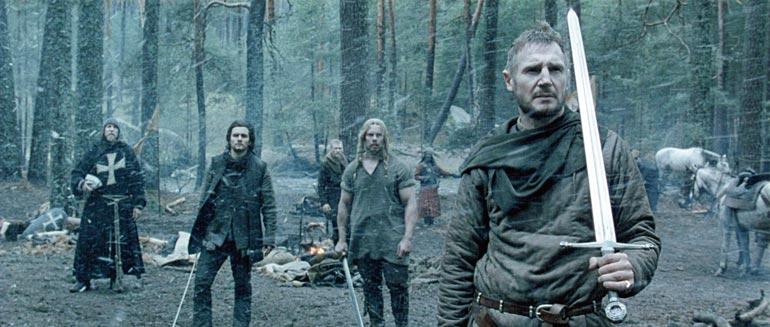 Ridley Scottin ohjaamassa Kingdom of Heavenissa punttisaleilta ja MM-tittelivoimailuista Hollywood-elokuviin päätynyt suomalainen näytteli muun muassa Liam Neesonin, Orlando Bloomin ja Jeremy Ironsin kanssa.