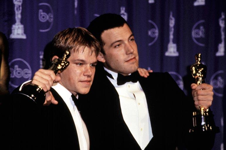 Damon oli 27 ja Ben Affleck vasta 25, kun kaksikko voitti Oscarin Good Will Huntingin käsikirjoituksesta. Kukaan heitä nuorempi ei ole vielä rikkonut ennätystä.