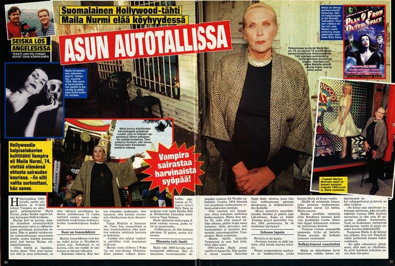 SEISKA 47/1998 Maila kertoi Seiskalle vuonna 1998 pettyneensä ihmisiin. – En pelkää kuolemaa.