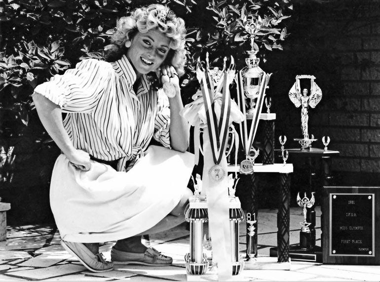 Kike Elomaasta tuli vuonna 1981 maailman paras  naiskehonrakentaja.
