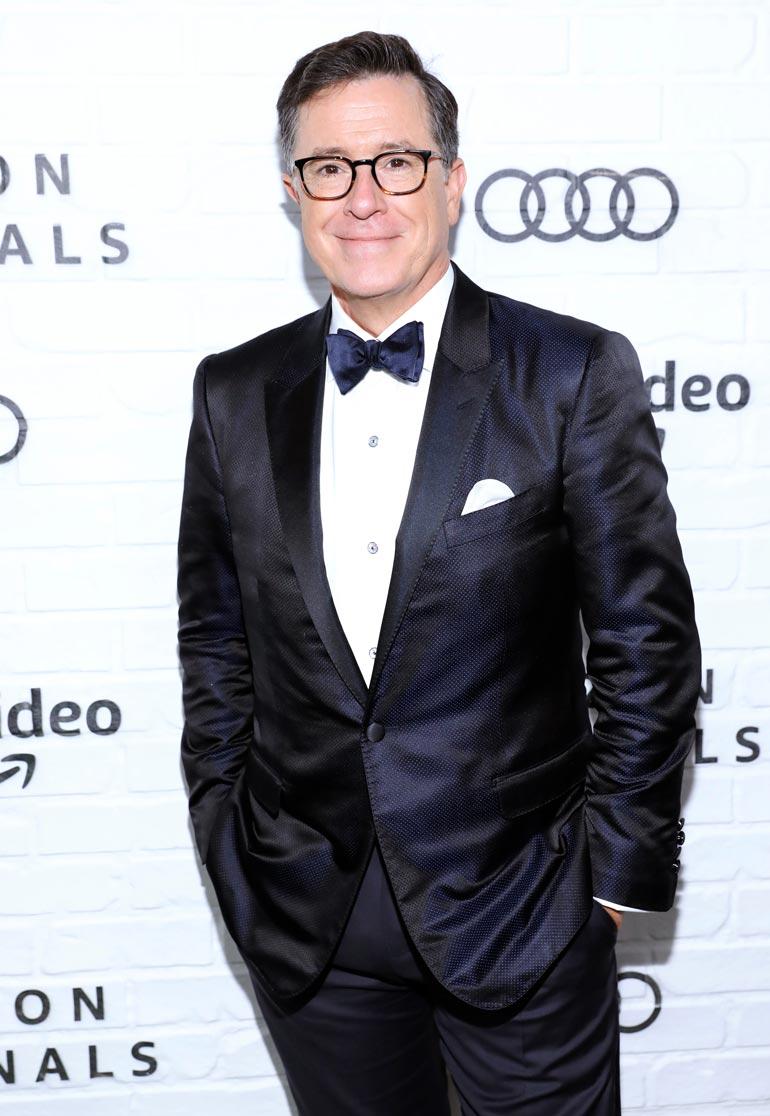 Norjan kuninkaalliset joutuivat Stephen Colbertin somepilkan kohteeksi.
