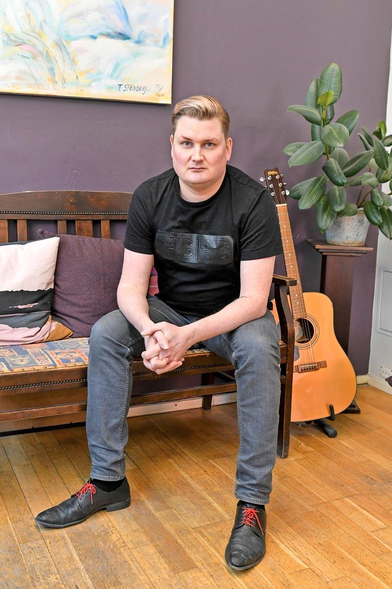 41-vuotias Mikko Rautiainen  on ehtinyt kokea vaikka mitä.  – Olen elämänkokemusten  pankki, Mikko sanoo.