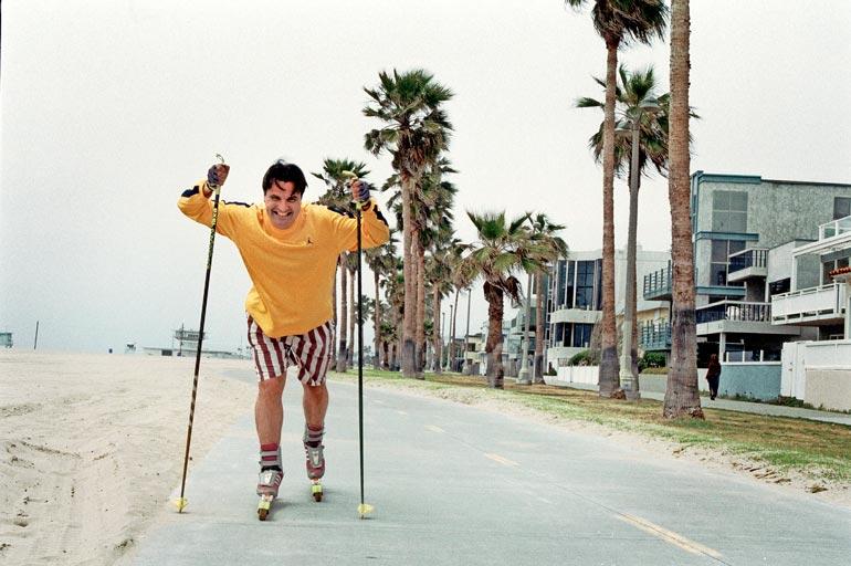 – Kaliforniassa voi hiihtää yllättävän hyvin. Osavaltiosta löytyy upeita hiihtokeskuksia, mutta minulle rantahiihtokin oli yksi treenimuoto, lahtelainen muistelee.