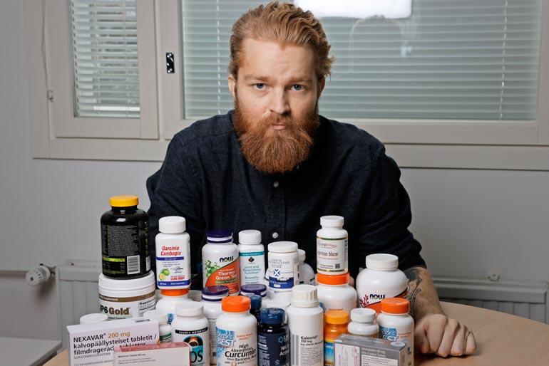 – Suomestakin löytyisi saamiani  hoitomuotoja ja lääkitystä, mutta  meillä kaikki tyssää hirvittävään  byrokratian lupaviidakkoon.