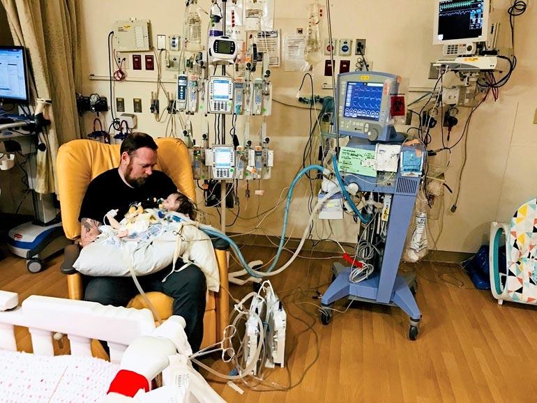 Emman pisin  sairaalakeikka kesti 323  päivää.