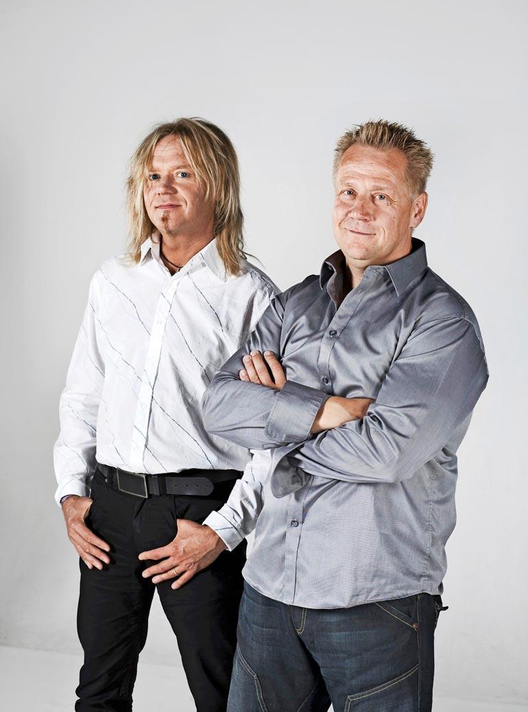Jussi ja Olli olivat väleissä  vielä vuonna 2009, mutta kaksi  vuotta myöhemmin puheyhteys katkesi.