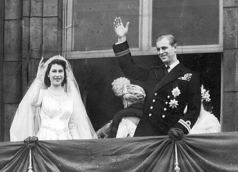 Kuningatar Elisabet ja prinssi Philip