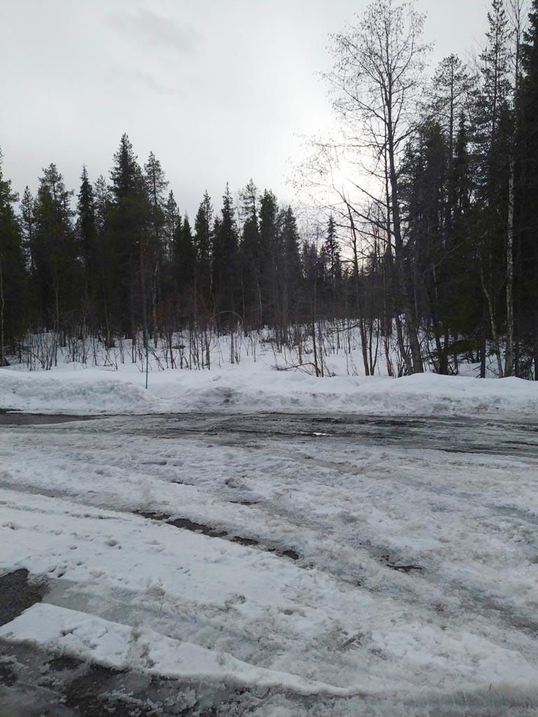 Stefun mökkikylänolisi tarkoitus nousta kuvassa näkyvälle alueelle.