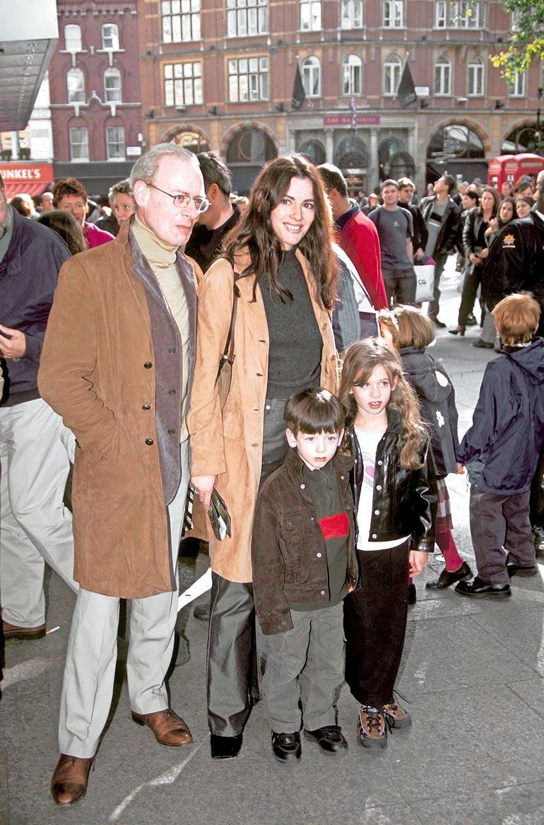 John, Nigella ja lapset
