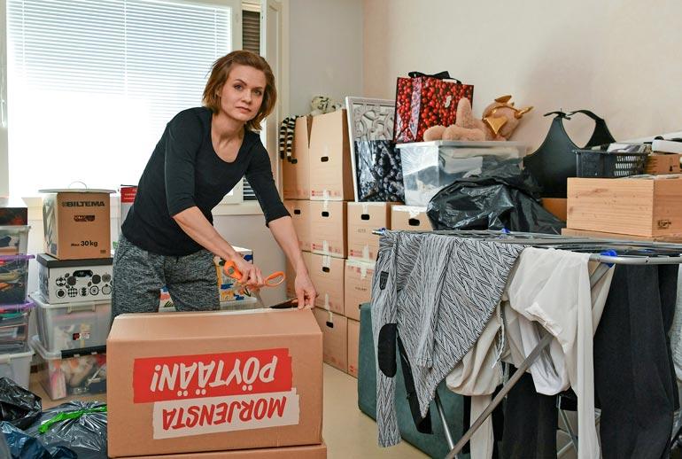 Anna osti itselleen ja pojalleen kodin Lopen keskustasta. Hänen mukaansa poikaa säännöllisesti tapaava Janne on mahtava isä. – Hän pitää pojastamme hyvää huolta.
