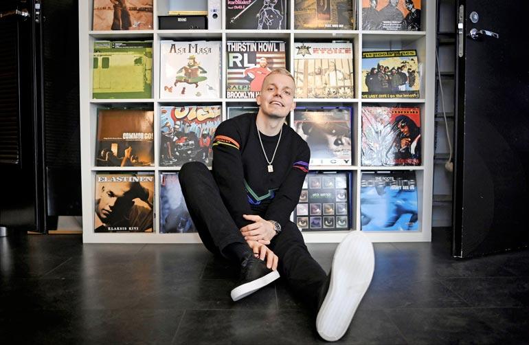 Kimmo Laiho eli Elastinen tiesi jo lukiossa, että hänestä tulee artisti. – Ajattelin tekeväni musiikkia, vaikka se jäisi harrastukseksi. Muuta vaihtoehtoa ei ollut ja sitä kohti menin.