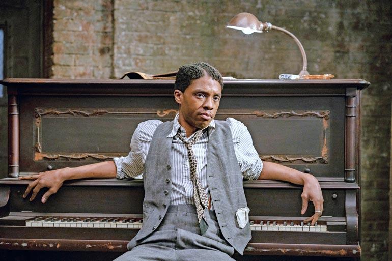 Parhaaksi miesnäyttelijäksi ehdolla olleen Chadwick Bosemanin viimeinen rooli nähtiin Ma Rainey´s Back Bottomissa.