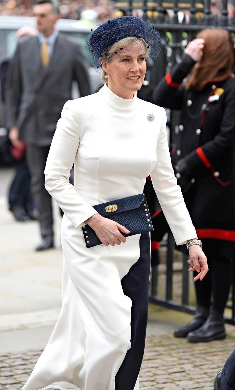 Wessexin kreivitär  Sophie on kuningatar  Elisabetin lempiminiä.