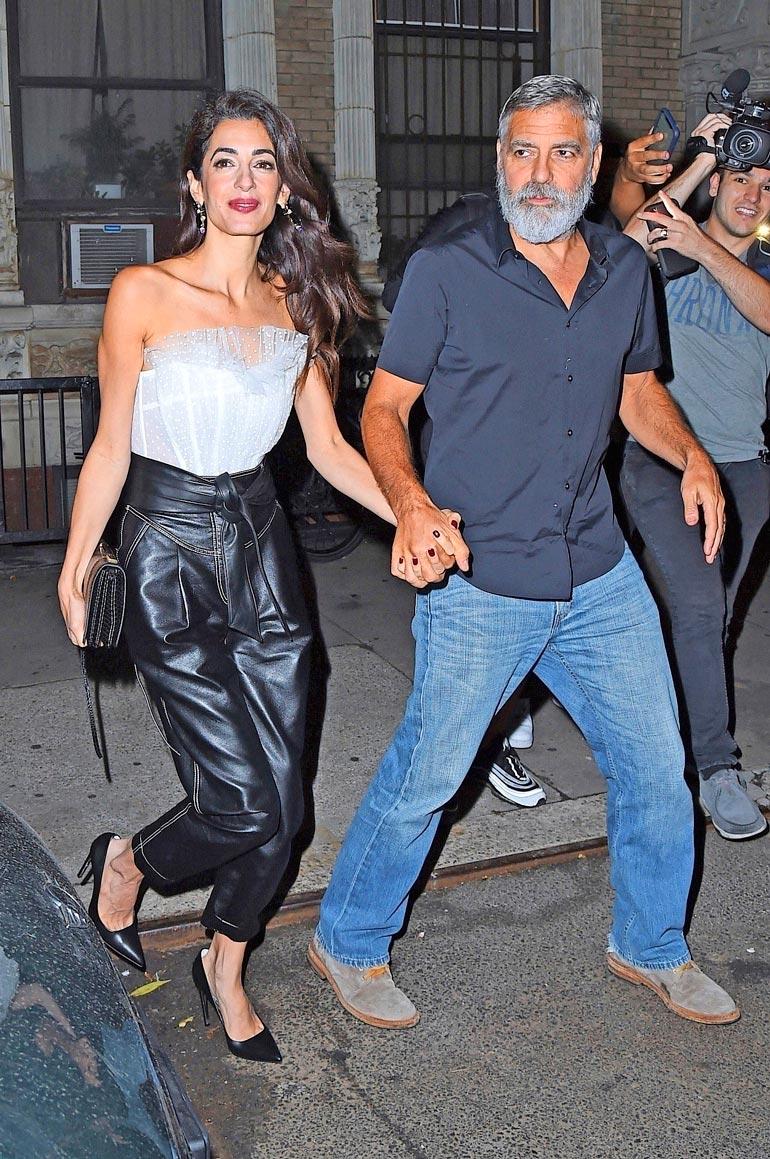 George on ollut naimisissa brittiläis-libanonilaisen asianajajan Amal Clooneyn (o.s. Alamuddin) kanssa vuodesta 2014.