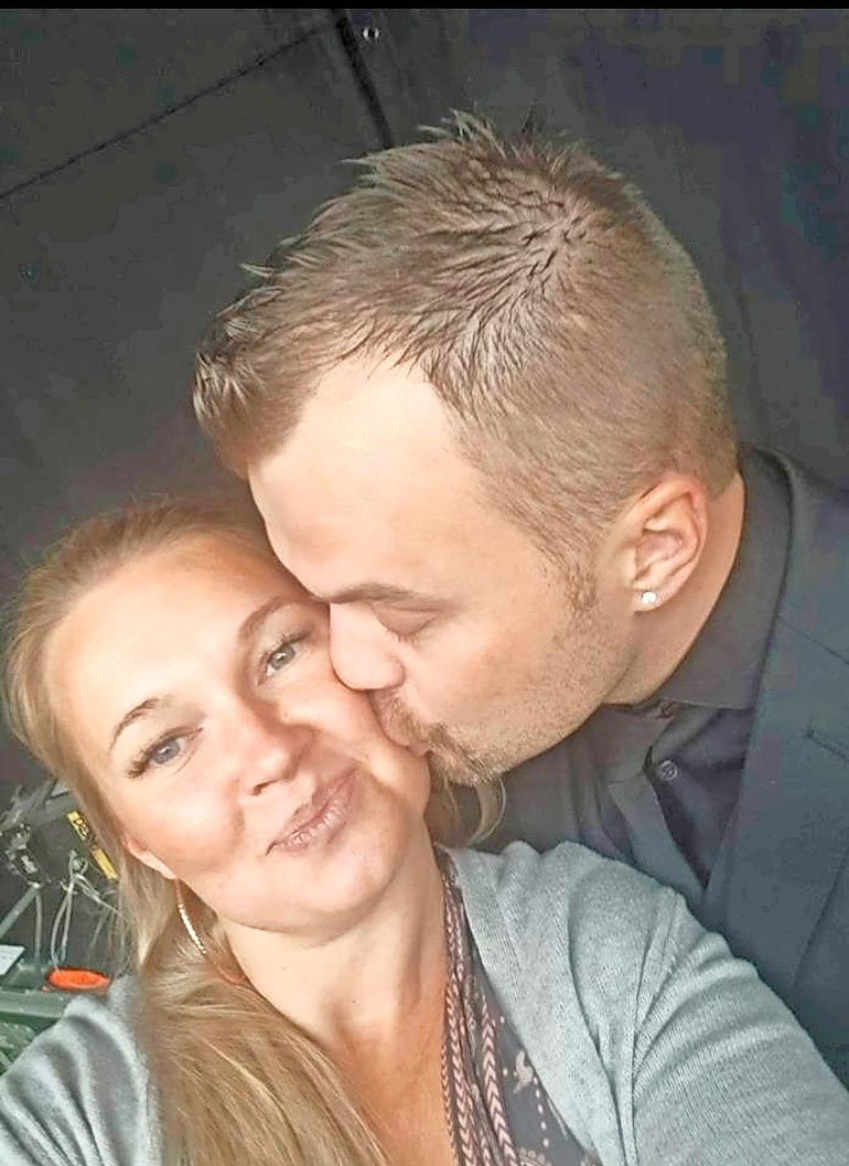 Heikki ja Clara tapasivat yhteisten ystävien kautta vuonna 2017.