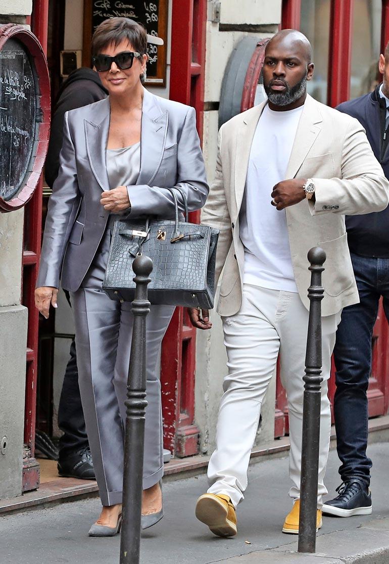 Corey Gamble ja Kris tutustuivat vuonna 2014, kun avioeroprosessi Caitlynista oli vielä kesken.