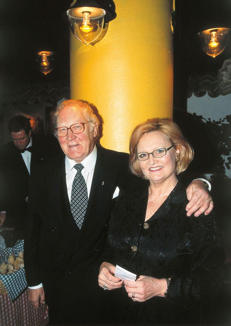 Ulla eklund ja Börje Lampenius