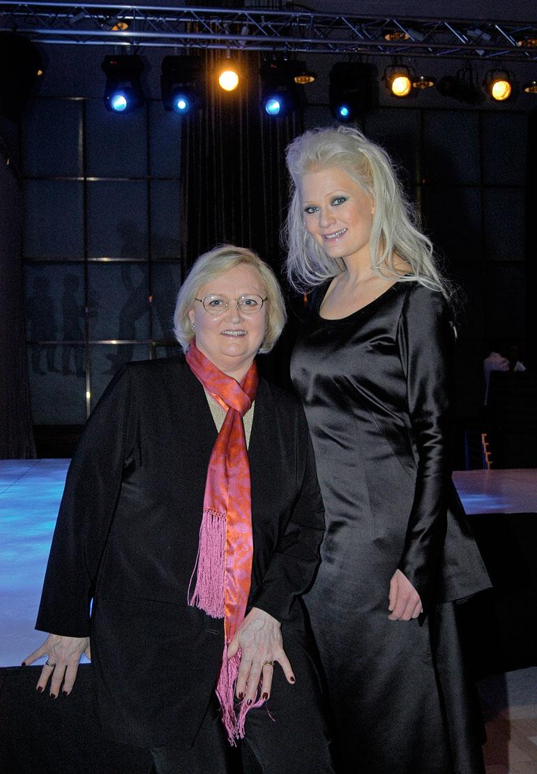 Linda Lampenius ja Ulla Eklund