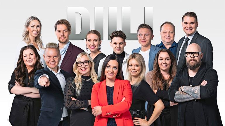 Diili-kilpailussa tehtiin tänä vuonna ensi kertaa pääsytehtäviä Jaajo Linnonmaan firmaa varten. Aiemmin Jaajon paikalla on tuomioita jakanut Hjallis Harkimo.