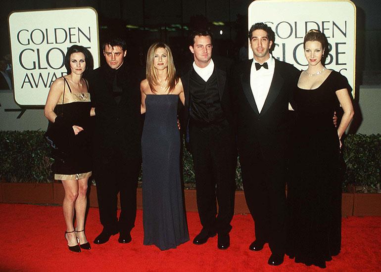 Matthew Perry, Courntey Cox, Jennifer Aniston, Lisa Kudrow, Matt LeBlanc, David Schwimmer