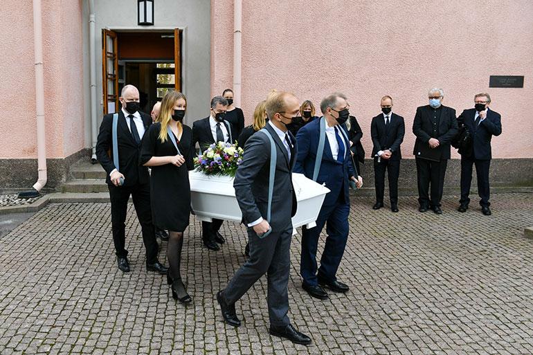 Matti Siitosen hautajaiset