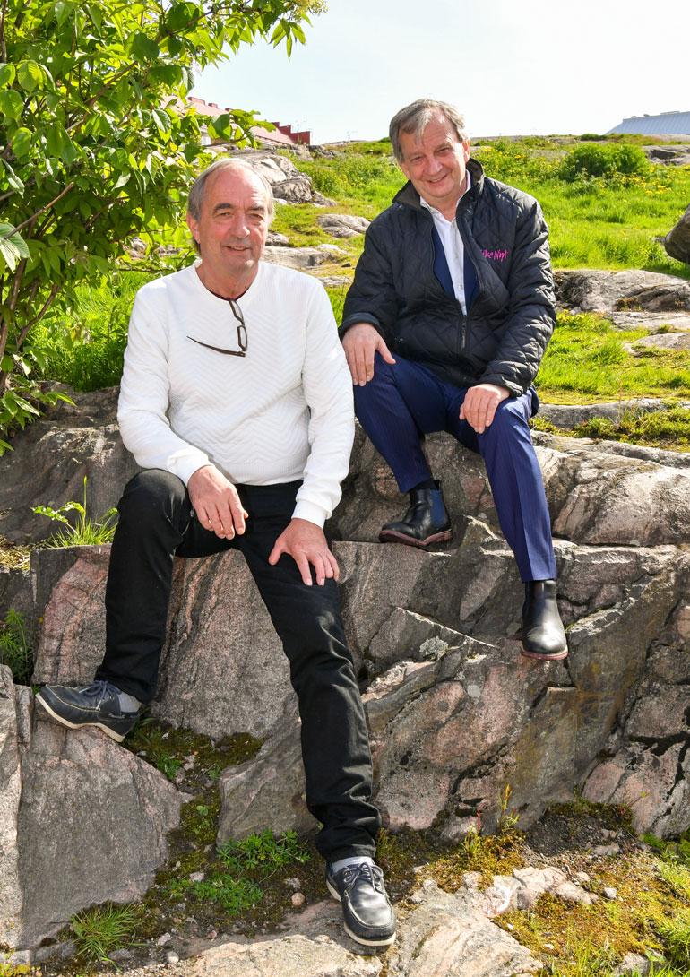Roy ja Hjallis Harkimo
