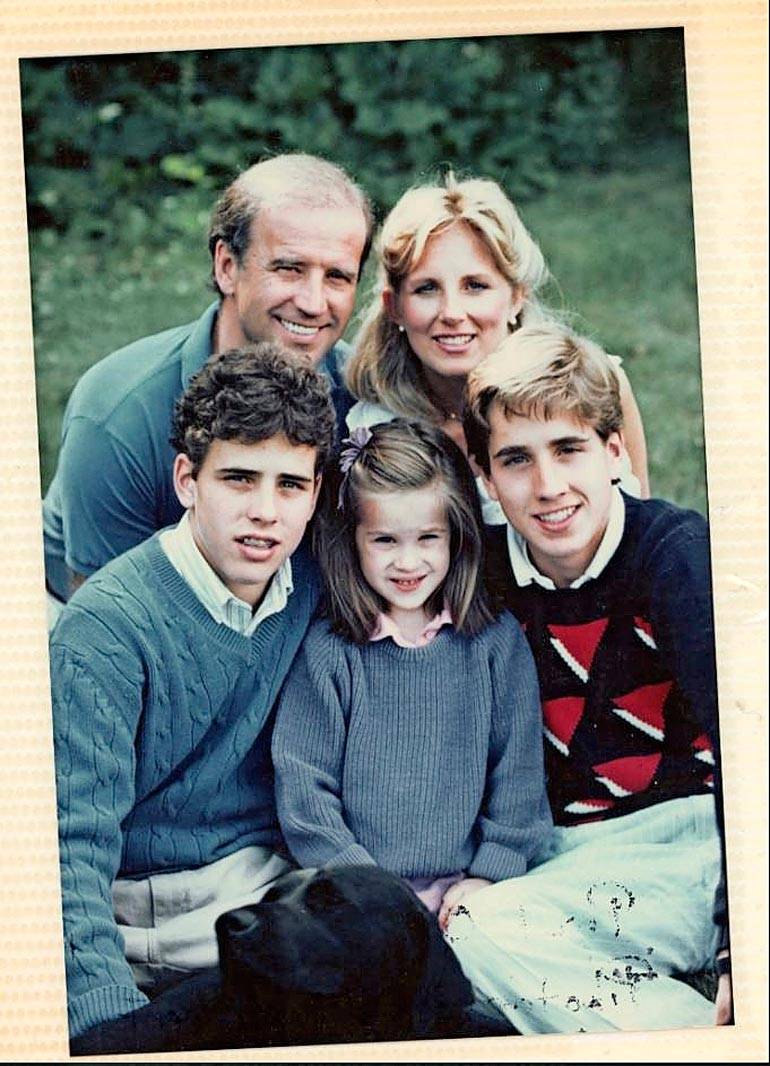 Jill Biden ja lapset