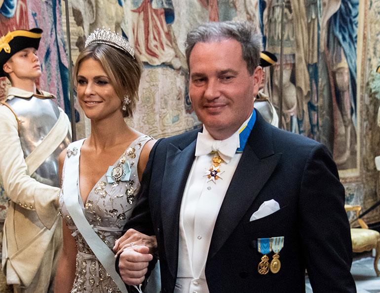 Ruotsin prinsessa Madeleine ja Chris O'Neill