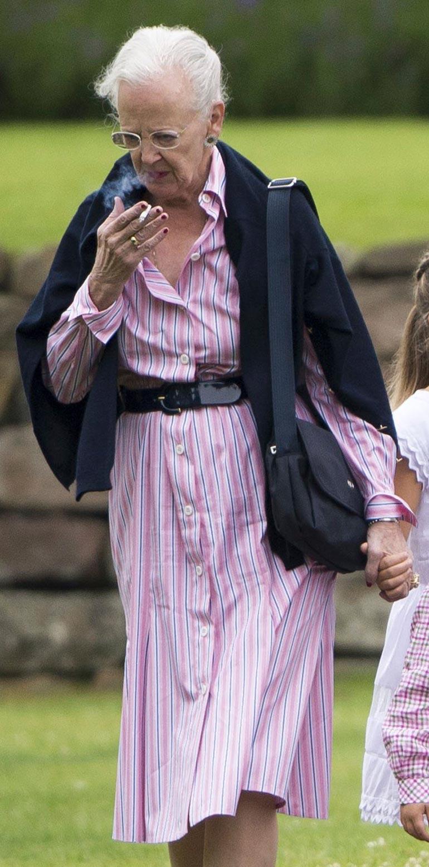 Perhe on huolissaan kuningatar Margareetan  terveydestä.