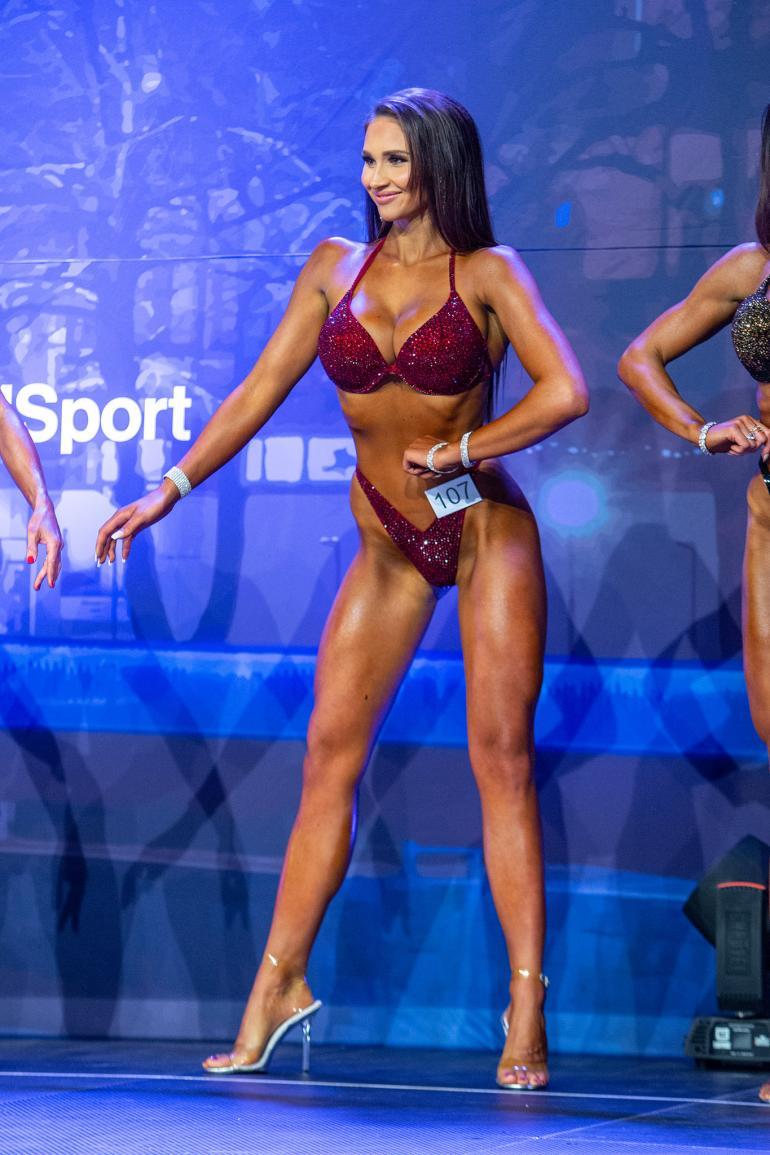 Tämä kroppa toi finaalipaikan. Tiukka dieetti ja kova treeni olivat tehneet tehtävänsä.
