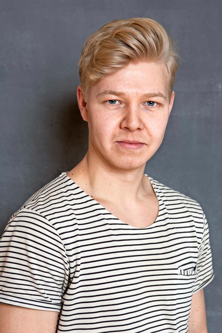 Joona hehkuttaa estoitta Mattia esittävää Jussi-Petteri Peräistä. – Tästä kaverista kuullaan vielä. Olen niin fiiliksissä siitä, että saan olla mukana hänen uransa alkutaipaleella.